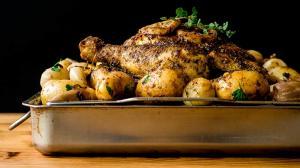 greek-style lemon & oregano roast chicken … my way