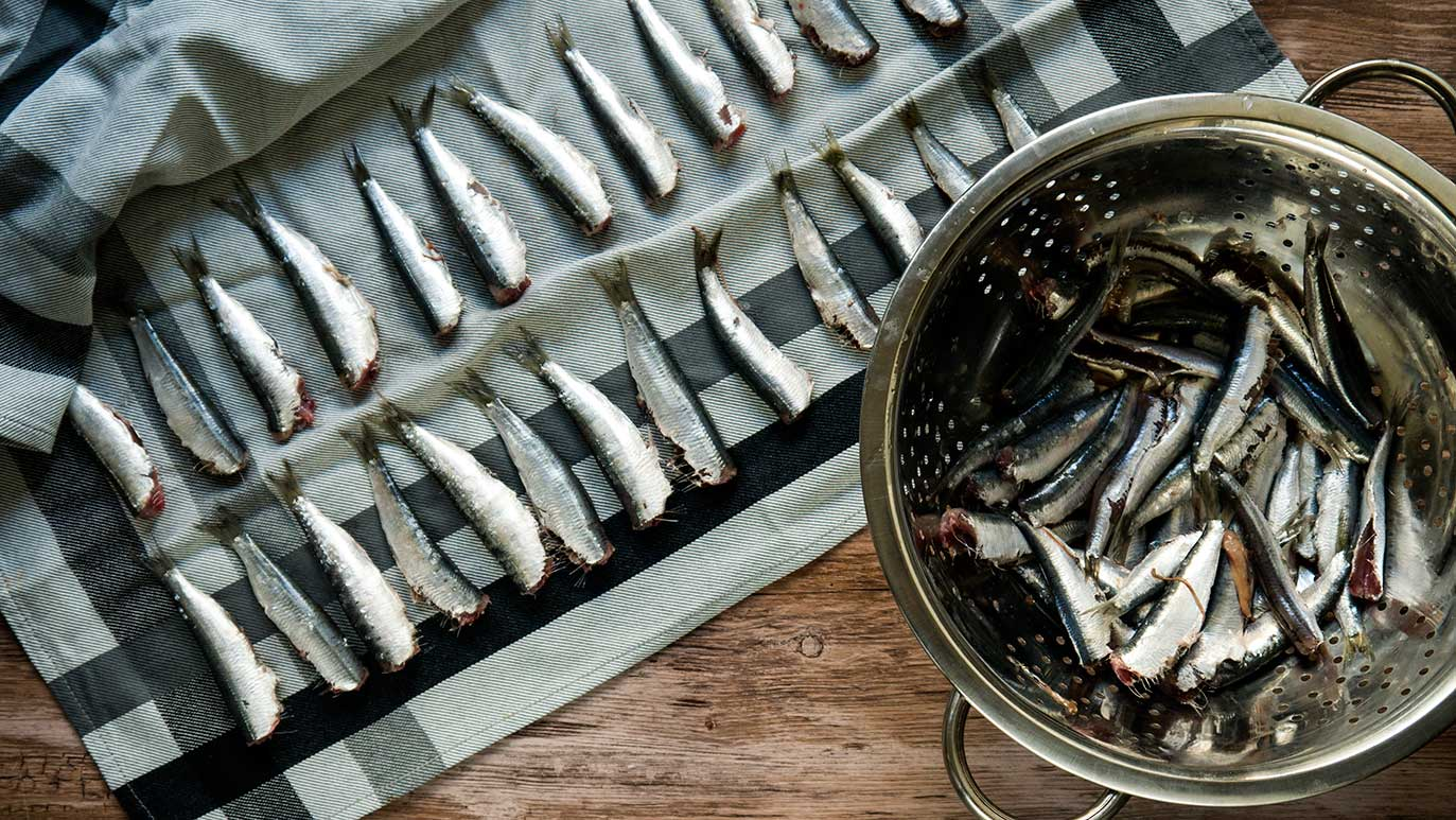 how to eat sardines for the first time