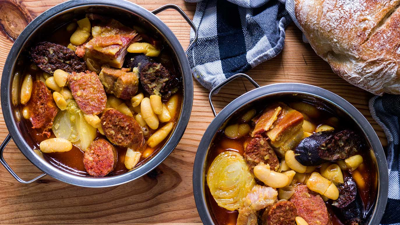 fabada asturiana - the 'very official' version ...