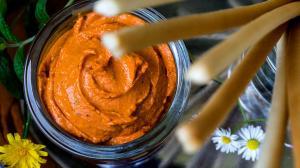 ktipiti – sauce à tremper aux poivrons rouges grillés & feta