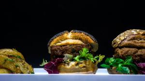 almost steak-tartare burger