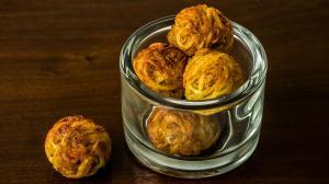 pelotes frites de pomme de terre