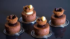 cheesecake chocolat & noisettes pour pâques
