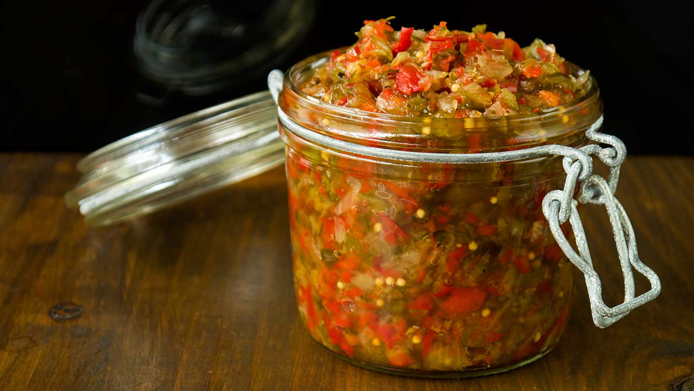 sweet & sour & spicy relish