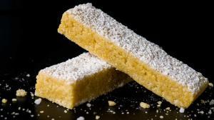 crispier butter & cornmeal shortbreads