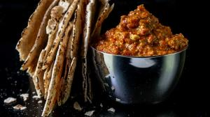 muhammara - roasted red pepper & walnut dip