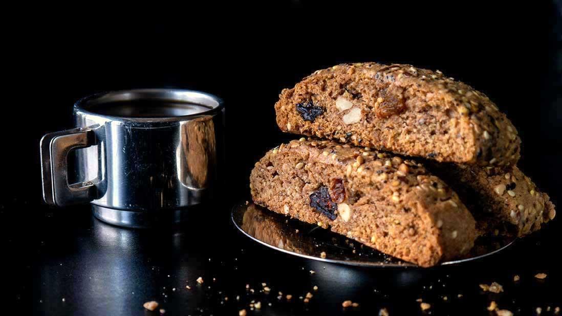 biscuits 'paximadia' aux noix & épices