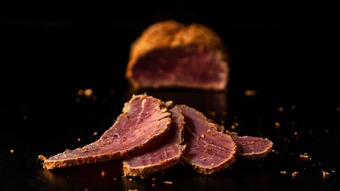 7-day salt-cured & air-dried spiced beef