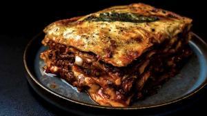 the 'ultimate' 4-braised & shredded meats lasagna