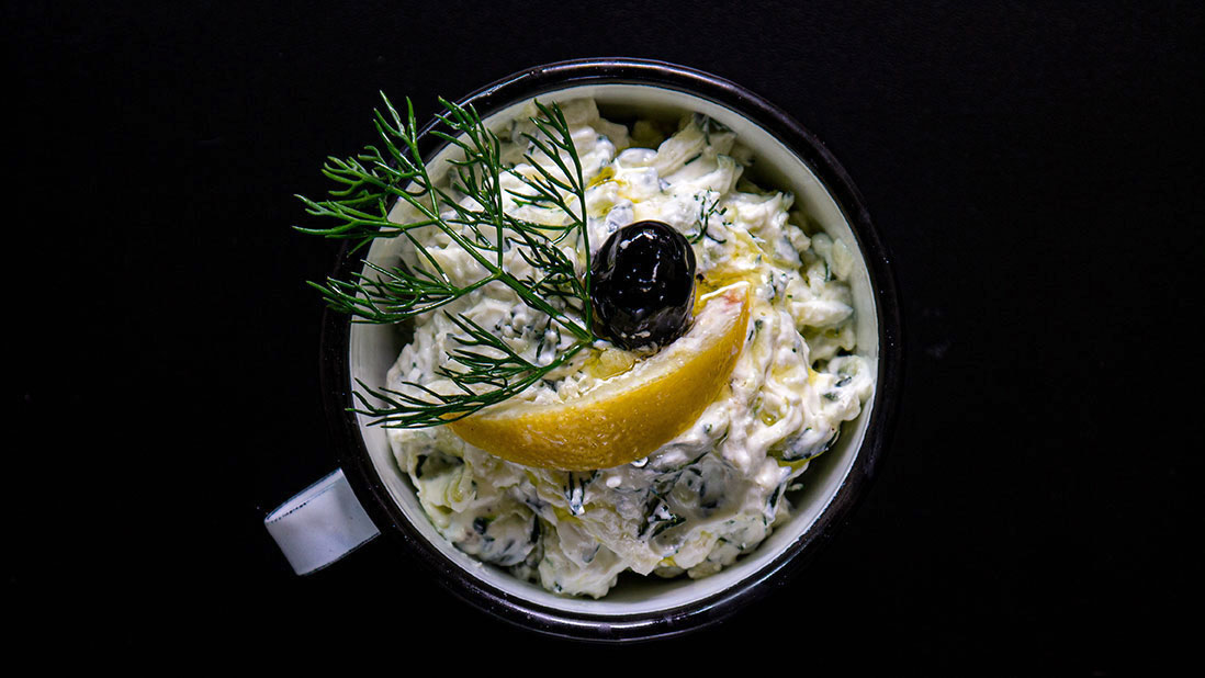 a better traditional tzatziki : thicker & chunkier & tastier