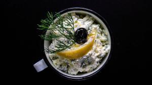 a better traditional tzatziki : thicker & chunkier & tastier