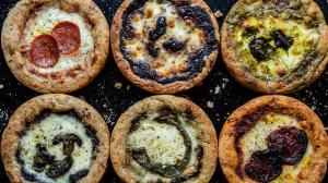 deep-dish & thick-crust mini-pizza snacks