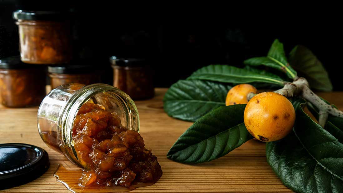 loquat fruit & cardamom sweet preserves