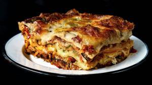 lasagnes ratatouille aux légumes d'été rôtis