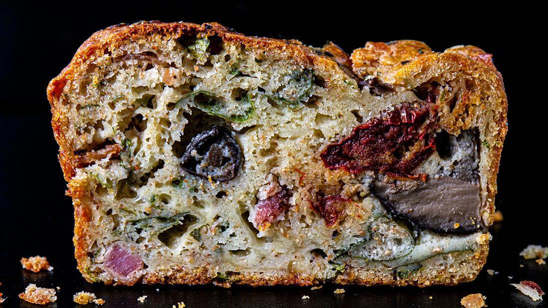 italian-style savory cake