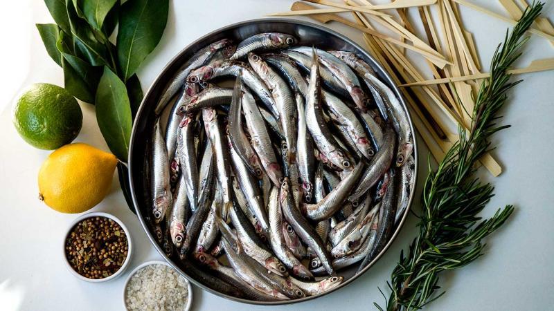 anchois grillés, icookstuff