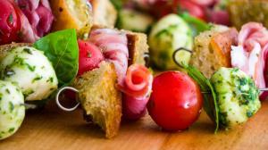 brochettes antipasto à l'italienne