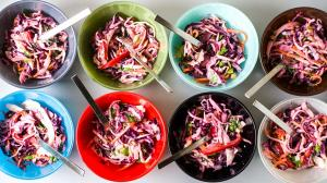apple fennel cabbage slaw