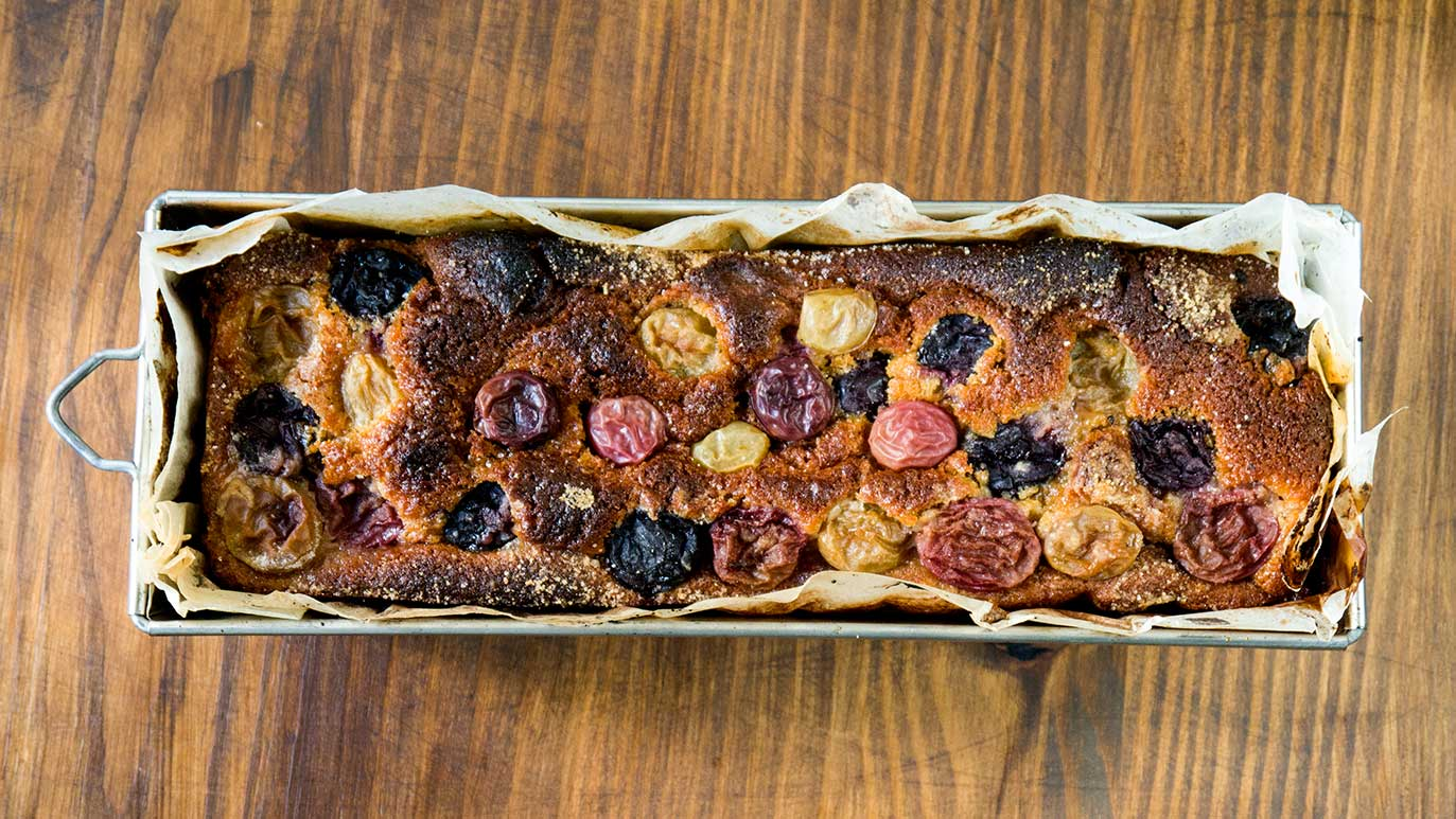 Grape And Wine Harvest Cake Icookstuff
