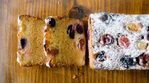 gâteau des vendanges au vin et raisins